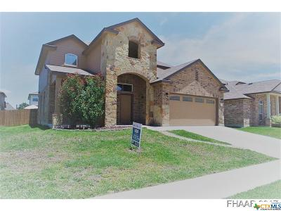 Killeen TX Single Family Home For Sale: $199,000