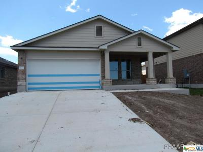 Belton Single Family Home For Sale: 5334 Cicero Drive