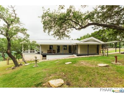 Belton Single Family Home For Sale: 10585 Highview Drive