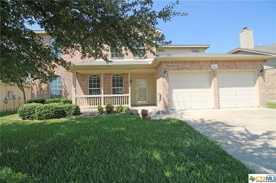 Harker Heights Single Family Home For Sale: 416 Rain Cloud