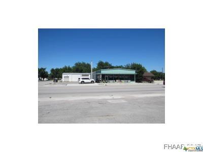 Lampasas Commercial For Sale: 107 Key Avenue