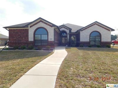 Harker Heights Single Family Home For Sale: 2616 Techny Drive