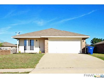 Copperas Cove Single Family Home For Sale: 507 Redbud Dr Drive