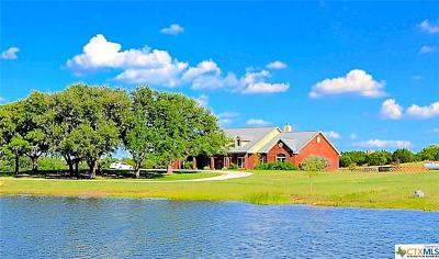 Lampasas Single Family Home For Sale: 2171 County Road 1025