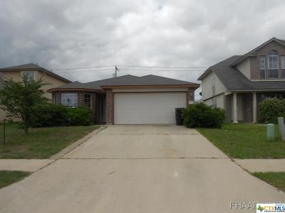 Killeen Single Family Home For Sale: 5212 Donegal Bay