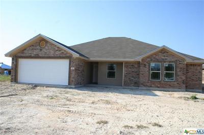 Copperas Cove Single Family Home For Sale: 2512 Heartland