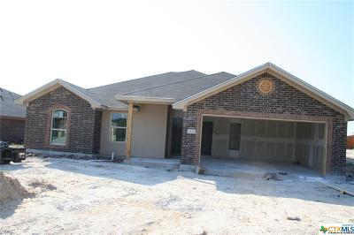 Copperas Cove Single Family Home For Sale: 2520 Heartland