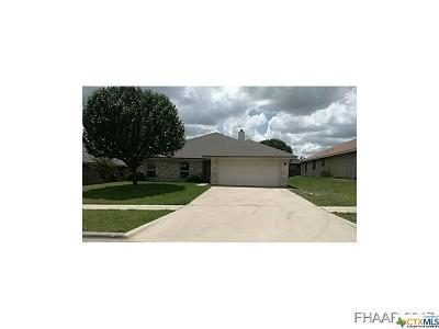 Killeen TX Single Family Home For Sale: $103,200