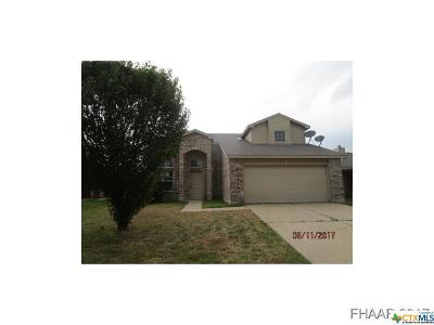Killeen Single Family Home For Sale: 2401 Price Drive
