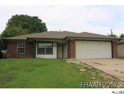 Copperas Cove Single Family Home For Sale: 1310 Elke Circle
