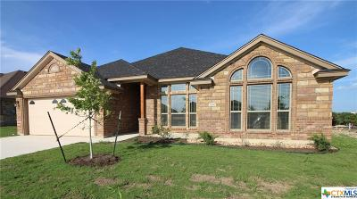 Killeen Single Family Home For Sale: 7700 Zircon Drive