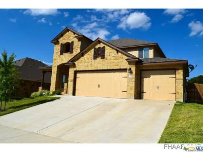 Harker Heights Single Family Home For Sale: 3247 Vineyard Trail