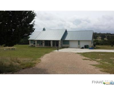 Lampasas Single Family Home For Sale: 553 B County Road 1030