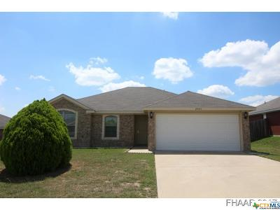 Copperas Cove Single Family Home For Sale: 2303 Boyd Drive