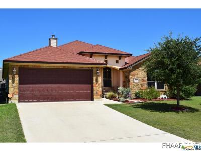 Harker Heights Single Family Home For Sale: 2535 Mugho Drive