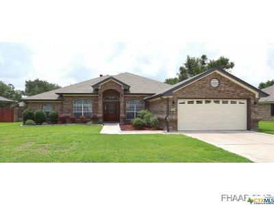 Killeen Single Family Home For Sale: 6408 Zinc