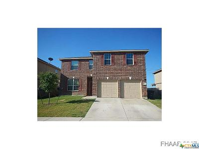 Killeen TX Single Family Home For Sale: $177,900