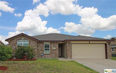 Copperas Cove Single Family Home For Sale: 2916 Sunflower Trail