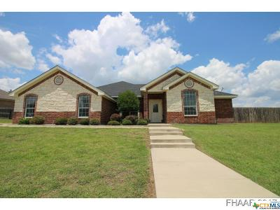Harker Heights Single Family Home For Sale: 3915 Bella Vista