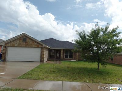 Copperas Cove Single Family Home For Sale: 3407 Lauren Street