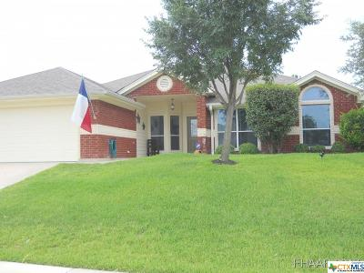 Copperas Cove Single Family Home For Sale: 3511 Jacob Street