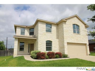 Harker Heights Single Family Home For Sale: 421 Cattail Circle