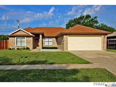 Killeen Single Family Home For Sale: 4004 Carolyn Drive