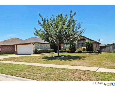 Copperas Cove Single Family Home For Sale: 2505 Jake Drive