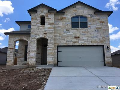 Copperas Cove Single Family Home For Sale: 1433 Lubbock Drive