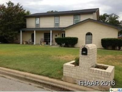 Copperas Cove Single Family Home For Sale: 602 Ash Street