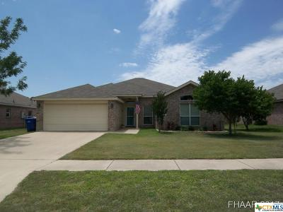 Copperas Cove Single Family Home For Sale: 2501 Jake Drive Drive