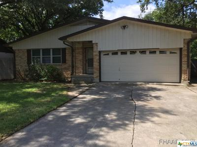 Copperas Cove Single Family Home Pending Take Backups: 502 Bowden Avenue