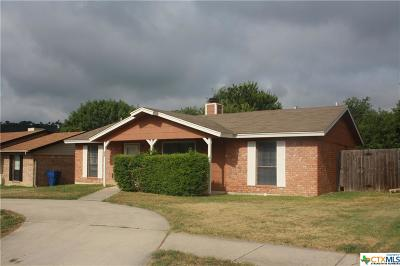 Copperas Cove Single Family Home For Sale: 205 Bridle Drive