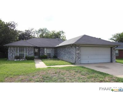 Copperas Cove Single Family Home For Sale: 512 Clara Drive