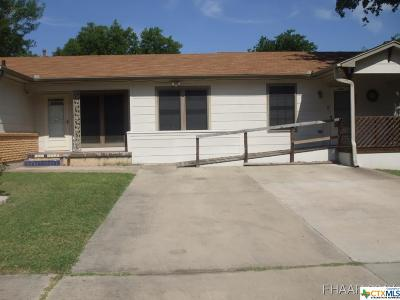 Copperas Cove Single Family Home For Sale: 308 Ridge Street