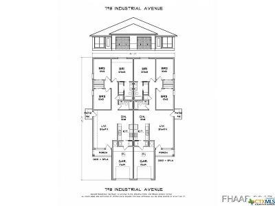 Copperas Cove Multi Family Home For Sale: 798 Industrial Avenue