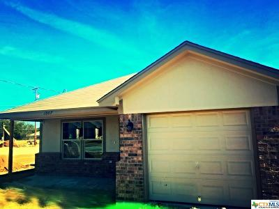 Harker Heights Single Family Home For Sale: 1807 Aztec