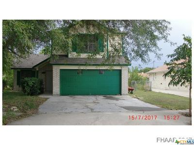 Killeen TX Single Family Home For Sale: $75,000