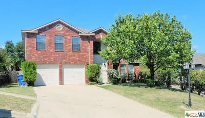 Copperas Cove Single Family Home For Sale: 404 Delmar Circle