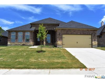 Killeen Single Family Home For Sale: 6305 Morganite Lane