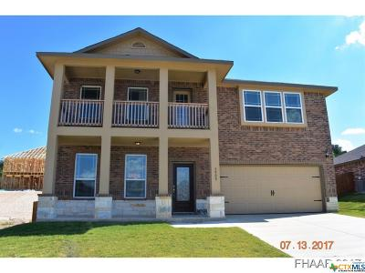 Killeen Single Family Home For Sale: 3900 Appalachian Trail