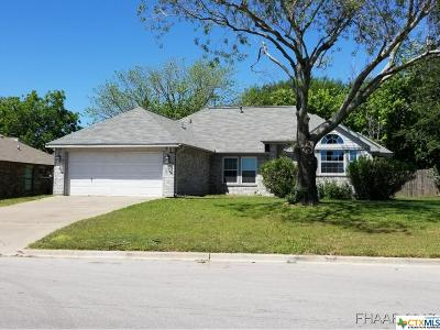 Harker Heights TX Single Family Home For Sale: $139,900