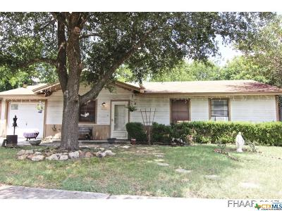 Copperas Cove Single Family Home For Sale: 2306 Terrace Drive