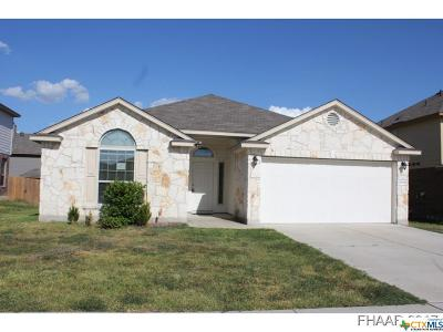 Killeen Single Family Home For Sale: 6404 Creek Land Road