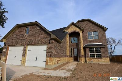 Killeen Single Family Home For Sale: 7702 Melanite