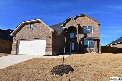 Killeen TX Single Family Home For Sale: $272,450
