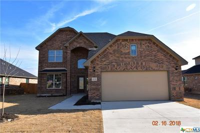 Killeen Single Family Home For Sale: 6206 Morganite