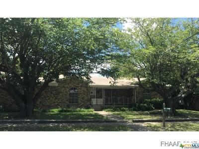 Copperas Cove Single Family Home For Sale: 1504 Robertson Avenue