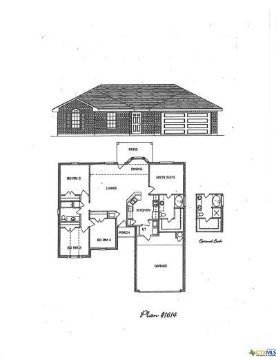 Killeen Single Family Home For Sale: 4504 Colonel Drive