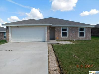 Copperas Cove Single Family Home For Sale: 3406 Logsdon Street
